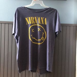 Nirvana Band Graphic Tee